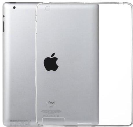 Чехол для iPad 2/3/4 силиконовый, прозрачный - фото 14710