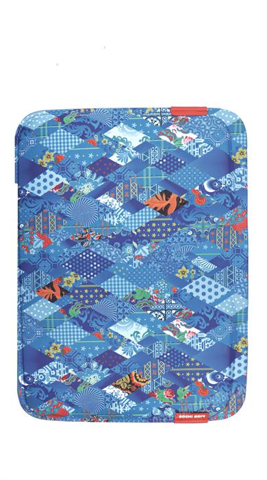 Чехол конверт для MacBook и пр. ноутбуков 13 дюймов, Sochi, синий - фото 15539
