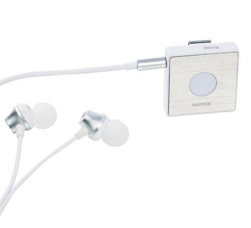 Беспроводные наушники (Наушники 3.5mm, с адаптером bluetooth) REMAX S3 Clip-On, белый - фото 7039