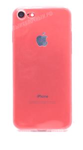 Чехол для iPhone 7/8 силиконовый, тонкий Brau, прозрачный