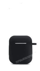Защитный чехол для AirPods, силиконовый, черный