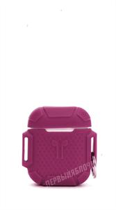 Защитный чехол для AirPods, силиконовый, VS противоударный на руку, фиолетовый
