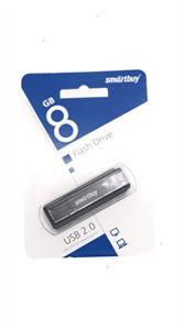 Флеш-накопитель USB 8GB SmartBuy, черный