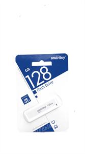 Флеш-накопитель USB 128GB SmartBuy, paean, белый