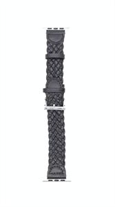 """Ремешок для Watch 42/44mm, """"кожаный"""", короткий leather band, черный"""