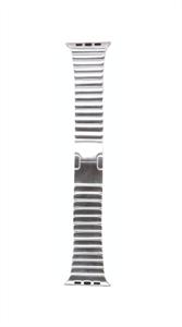 Ремешок для Watch 42/44mm, металлический, блочный браслет, серебристый