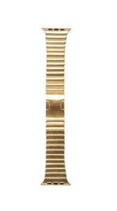 Ремешок для Watch 42/44mm, металлический, блочный браслет, золотистый