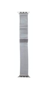 Ремешок для Watch 42/44mm, металлический, миланский сетчатый браслет, серебристый