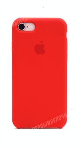 Чехол для iPhone 7/8 Silicone Case, красный (OR)