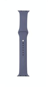 Ремешок для Watch 42/44mm, силиконовый, Sport, темно синий