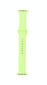 Ремешок для Watch 42/44mm, силиконовый, Sport, светло зеленый