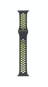 Ремешок для Watch 38/40mm, Nike, черный/салатовый