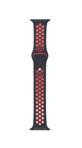 Ремешок для Watch 38/40mm, Nike, черный/красный