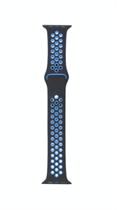 Ремешок для Watch 38/40mm, Nike, черный/синий