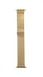 Ремешок для Watch 38/40mm, металлический, миланский сетчатый браслет, золотистый