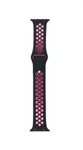 Ремешок для Watch 38/40mm, Nike, черный/розовый