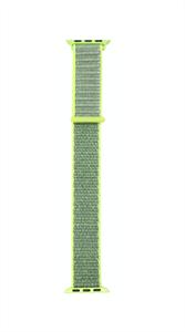 Ремешок для Watch 38/40mm, нейлоновый, салатовый