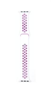 Ремешок для Watch 38/40mm, Nike, белый/фиолетовый