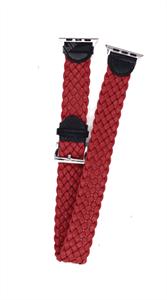 """Ремешок для Watch 38/40mm, """"кожаный"""", двойной leather band, красный"""