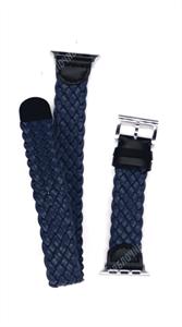 """Ремешок для Watch 38/40mm, """"кожаный"""", двойной leather band, темно-синий"""