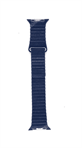 """Ремешок для Watch 42/44mm, """"кожаный"""", синий"""