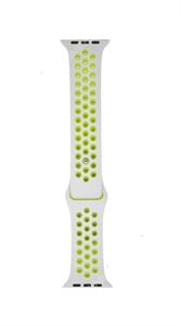 Ремешок для Watch 42/44mm, Nike, серый/салатовый