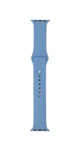 Ремешок для Watch 38/40mm, силиконовый, Sport, темно синий