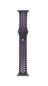 Ремешок для Watch 42/44mm, Nike, черный/фиолетовый
