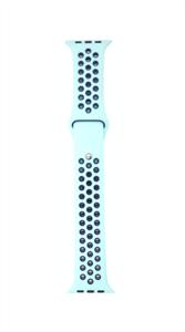 Ремешок для Watch 42/44mm, Nike, мятный/темно синий
