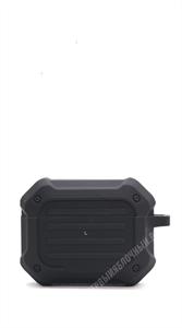 Защитный чехол для AirPods Pro противоударный Spigen, серый