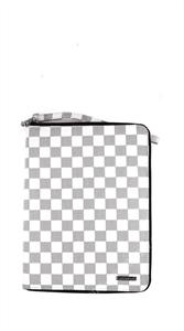 Чехол для iPad Air (1 поколения) под кожу Bohobo клетчатый, белый