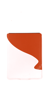 Чехол кармашек MAPI Кожанный белый/коричневый