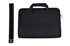 Сумка для Macbook и ноутбуков 13 дюймов, Cartinoe Lamando, черный