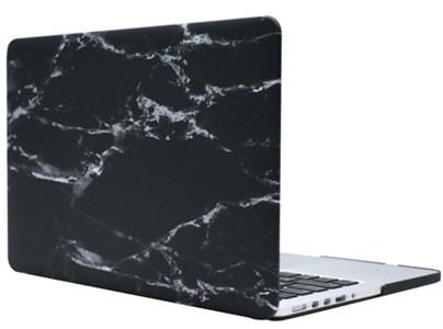 Чехол для MacBook Pro Retina 13' Gurdini, пластиковый, мрамор темно-серый