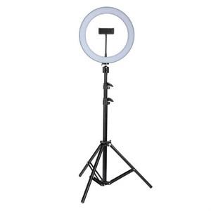 Кольцевая светодиодная лампа 36 см, со штативом (2м)