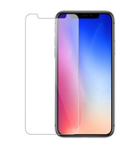 Защитное стекло для iPhone X/Xs 2D эконом техпак, черный
