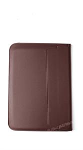 Чехол конверт для MacBook и пр. ноутбуков 13 дюймов, кожаный, коричневый