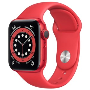 Умные часы Watch S6 40mm PRODUCT(RED) Aluminum Case with PRODUCT(RED) Sport Band (M00A3)