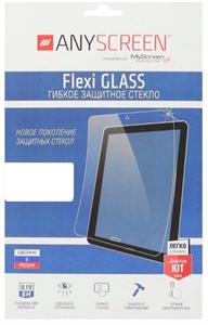 Защитное стекло для iPad Air/Pro 10.5, 2D 0.2мм гибридное, Flexi Glass by Deppa, прозрачное