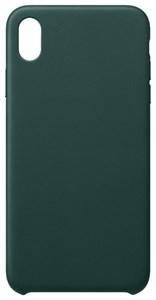 Чехол для iPhone Xr силиконовый, Flora, зеленый (SL)