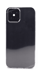 Чехол для iPhone 12/12 Pro, Borofone, силиконовый, темно-прозрачный