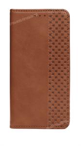 Чехол книжка-кошелек для iPhone 12/12 Pro, коричневый