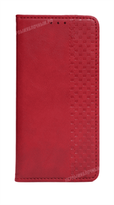 Чехол книжка-кошелек для iPhone 12/12 Pro, красный