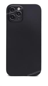Чехол для iPhone 12/12 Pro, KeepHone, силиконовый, черный