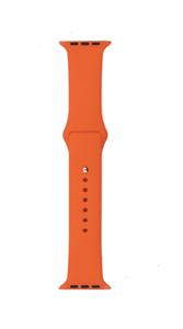 Ремешок Gurdini для Watch 42/44mm, силиконовый, Sport, 2 размера, оранжевый