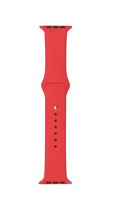 Ремешок Gurdini для Watch 38/40mm, силиконовый, Sport, 2 размера, красный