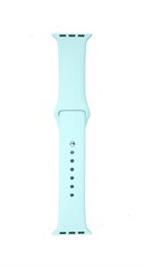 Ремешок Gurdini для Watch 38/40mm, силиконовый, Sport, 2 размера, мятный