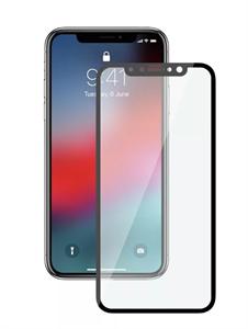Защитное стекло для iPhone Xs Max, 3D техпак, черное матовое