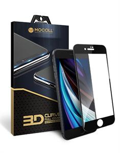 """Защитное стекло для iPhone 7/8, 2.5D Mocoll (серия """"Black Diamond"""" 2GEN), черный"""