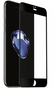Защитное стекло для iPhone 7/8, 3D техпак, черный